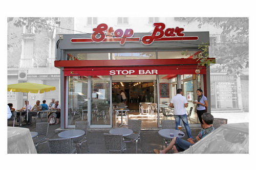 Stop bar - Toulon